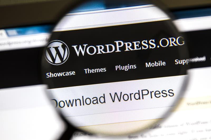 בקשו מהחברה לבניית אתרים: wordpress.org