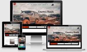 צילום מסך של אתר מוכן עם טאצ' אישי: דוגמה עבור חברת טיולי אקסטרים
